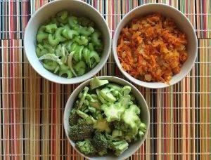 Крем-суп с чечевицей и брокколи - 1