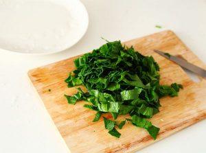 Рис с карамелизированной тыквой и шпинатом - 1