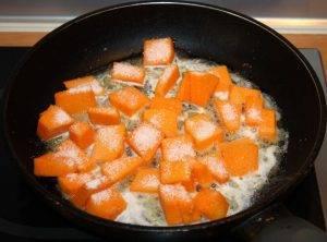 Рис с карамелизированной тыквой и шпинатом - 0