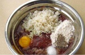 Рисово-печеночные оладьи - 0