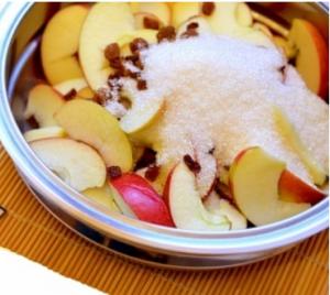 Слоеный пирог с яблоками - 0
