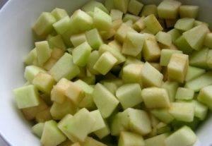 Яблочно-ягодная шарлотка - 0