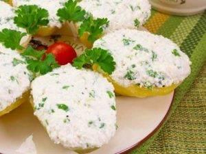 Картофель с творожно-сметанным кремом - 4