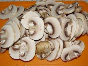 Ризотто с грибами и зеленым луком - 0