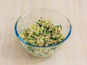 Тарталетки с салатом из тунца - 2