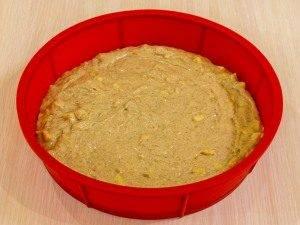 Яблочно-банановый пирог с шоколадной глазурью - 4