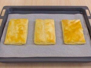 Закусочные пирожные из слоеного теста, форели и авокадо - 0