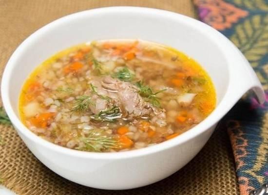 гречневый суп с курицей в мультиварке