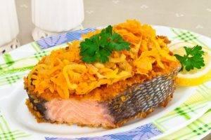 Жареная красная рыба - 7