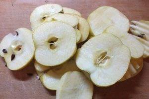 Карамельные яблочки с шоколадом и орехами - 0