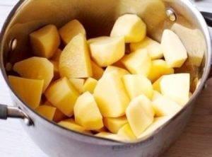 Рыбный суп с тефтелями и картофельными клецками - 0