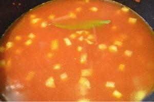 Суп из томатов и кольраби - 2