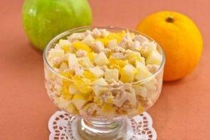 Салат с куриным филе и апельсинами - 5