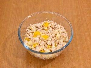 Салат с куриным филе и апельсинами - 4