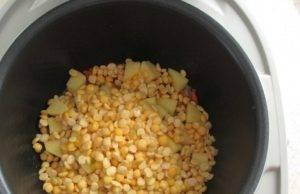Постный суп из гороха в мультиварке - 1