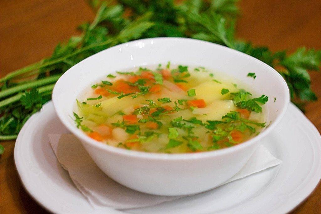 Суп картофельный диета 1