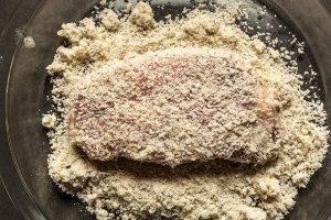 Эскалоп из свинины в сырной панировке - 0