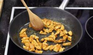 Бутерброды с курицей карри - 0