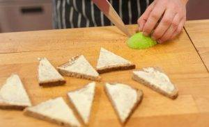 Бутерброды с семгой и авокадо - 0