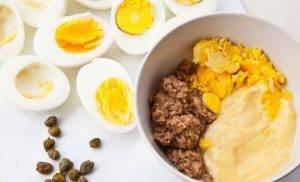 Фаршированные яйца тунцом - 0