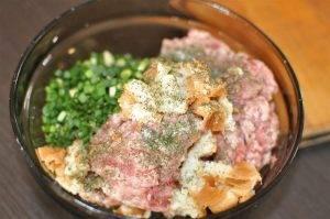 Биточки из свинины с зеленым луком - 0