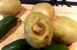 Фаршированная беконом картошка в духовке - 0