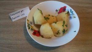 Курица с отварным картофелем - 11