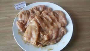 Курица в корочке из сухарей и сыра, с горчицей и соевым соусом - 4