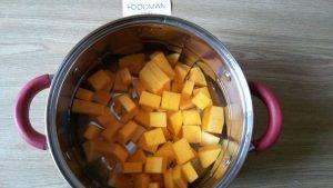 Суп из тыквы с репой, морковью и соком апельсина - 7