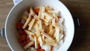 Суп из тыквы с репой, морковью и соком апельсина - 11