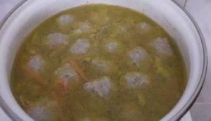 Экспресс-суп с тефтелями - 2