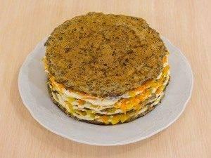 Торт из говяжьей печени - 3