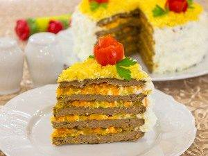 Торт из говяжьей печени - 4