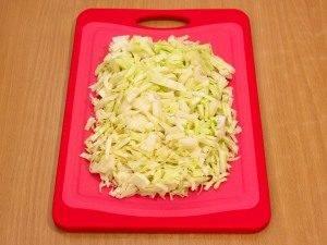 Салат с кукурузой и капустой - 1