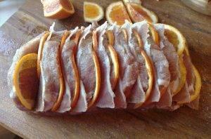 Свиная корейка с апельсинами в духовке - 1