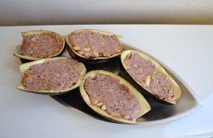 Фаршированные баклажаны со свининой - 1