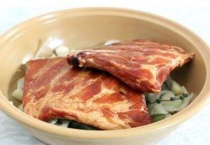 Копченые свиные ребрышки в духовке - 1