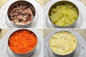 Салат под шубой со скумбрией - 2