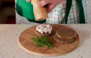 Канапе с семгой и сливочным сыром - 2
