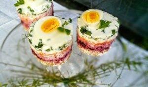 Легкие овощные закусочные тортики - 3