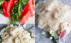 Мешочки из рисовой бумаги с начинкой - 1