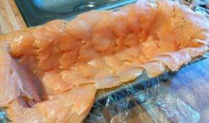 Террин из форели с лососем - 0