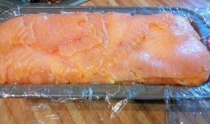 Террин из форели с лососем - 2