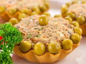 Тарталетки с салатом из куриной печени - 5