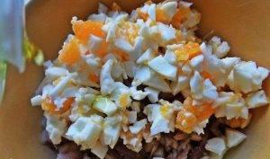 Закуска «Скумбрия с яйцом» - 2