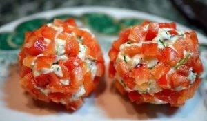 Сырная закуска «Новогодние шары» - 1
