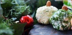 Сырная закуска «Новогодние шары» - 2