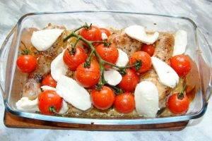 Куриные ножки с помидорами и сыром в духовке - 3