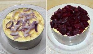 Салат под шубой со скумбрией - 3