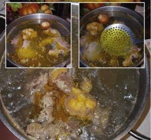 Суп вермишелевый из цесарки - 0